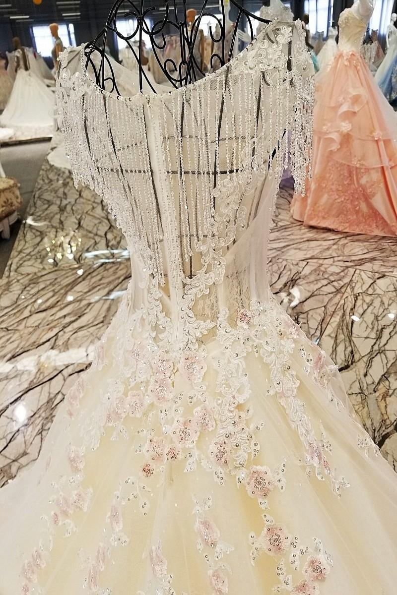 LS00263 2017 new products traditional style see through back designer long train lace japanese style cocktail wedding dresses