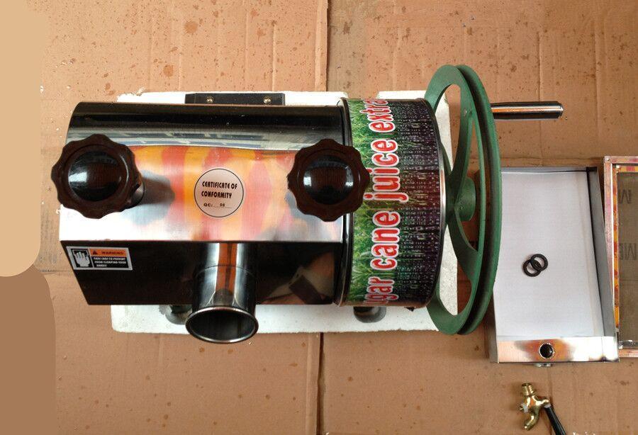 Beste verkaufende hohe Leistungsfähigkeit und gute Qualitätsnahrungsmittelgesundheits-Edelstahlmanuelle betätigen Zuckerrohr-Juicermaschine mit freiem Verschiffen