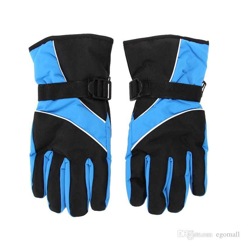 New Men Ski Gloves Thermal Waterproof For Winter Outdoor Sports Snowboard Unisex Snow Gloves