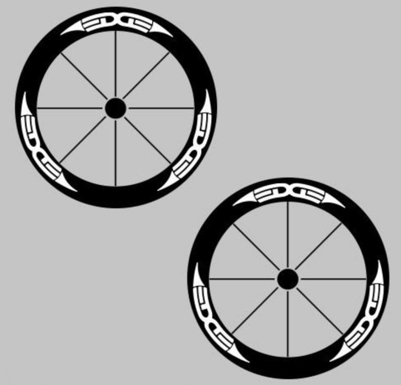 2018 2015 New Mountain Bike Bicycle Stickers Deep Rim Carbon Wheel