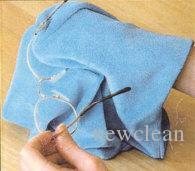زجاج تنظيف الملابس الجلد المدبوغ منشفة ستوكات نظارات نظارات شمسية عدسة مكبرة قماش نظيفة من القماش 20x20cm