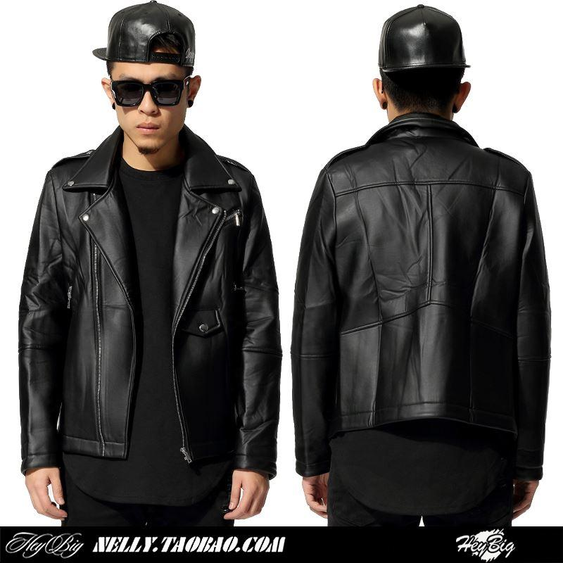 2017 Winter Trend Of High End Custom Leather Jacket Male High ...