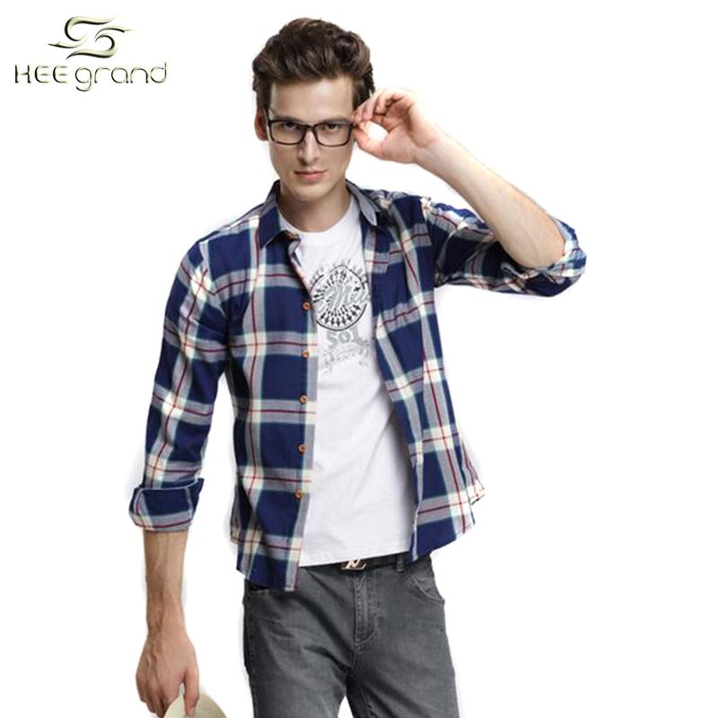 Best 2015 New Arrival Men Summer Long Sleeve Shirt Men Casual ...