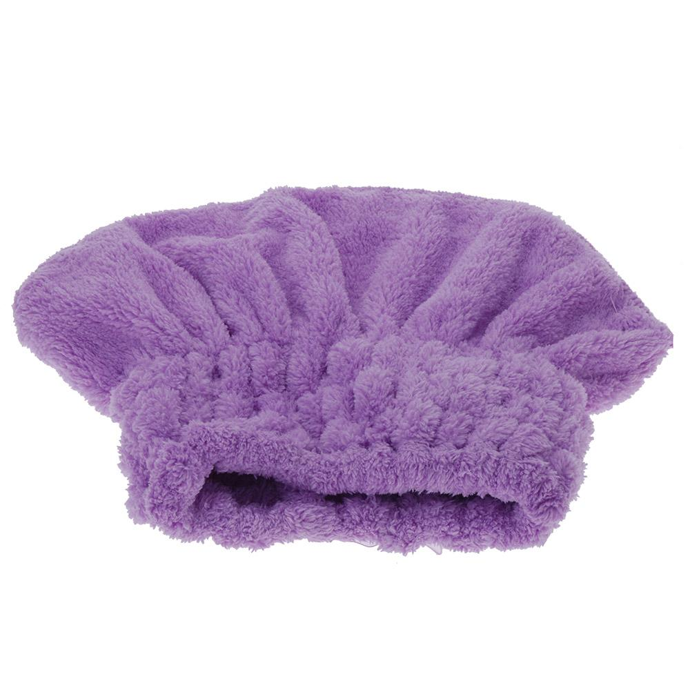 Fashion Hot Home Textile Useful Dry Hair Hat Microfiber Hair Turban Quickly Dry Hair Hat Wrapped Towel Bathing Cap