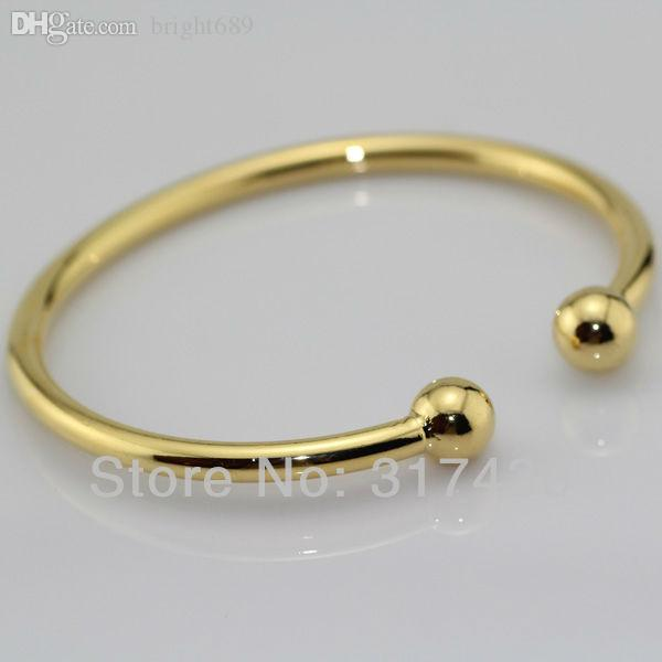 cuban bangle solid gold products bracelet bebe link bangles yellow miami