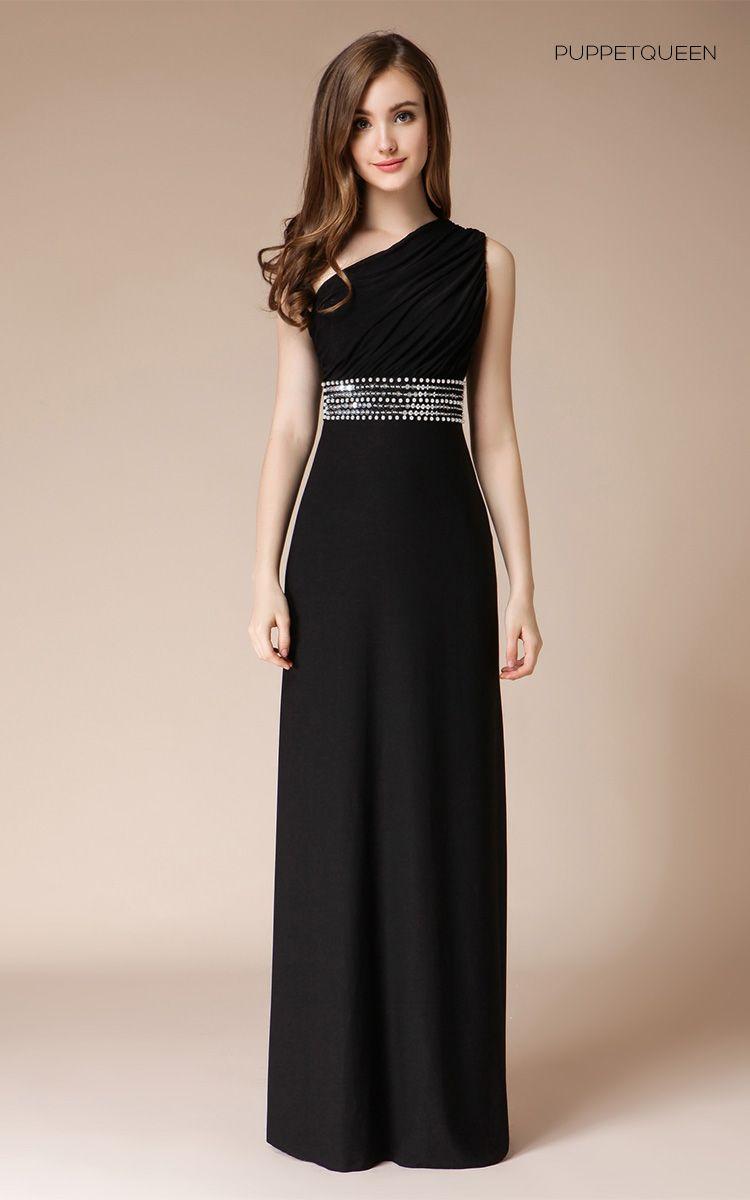 Long Elegant Evening Gowns Crystal Beadings Sequin Women Evening ...