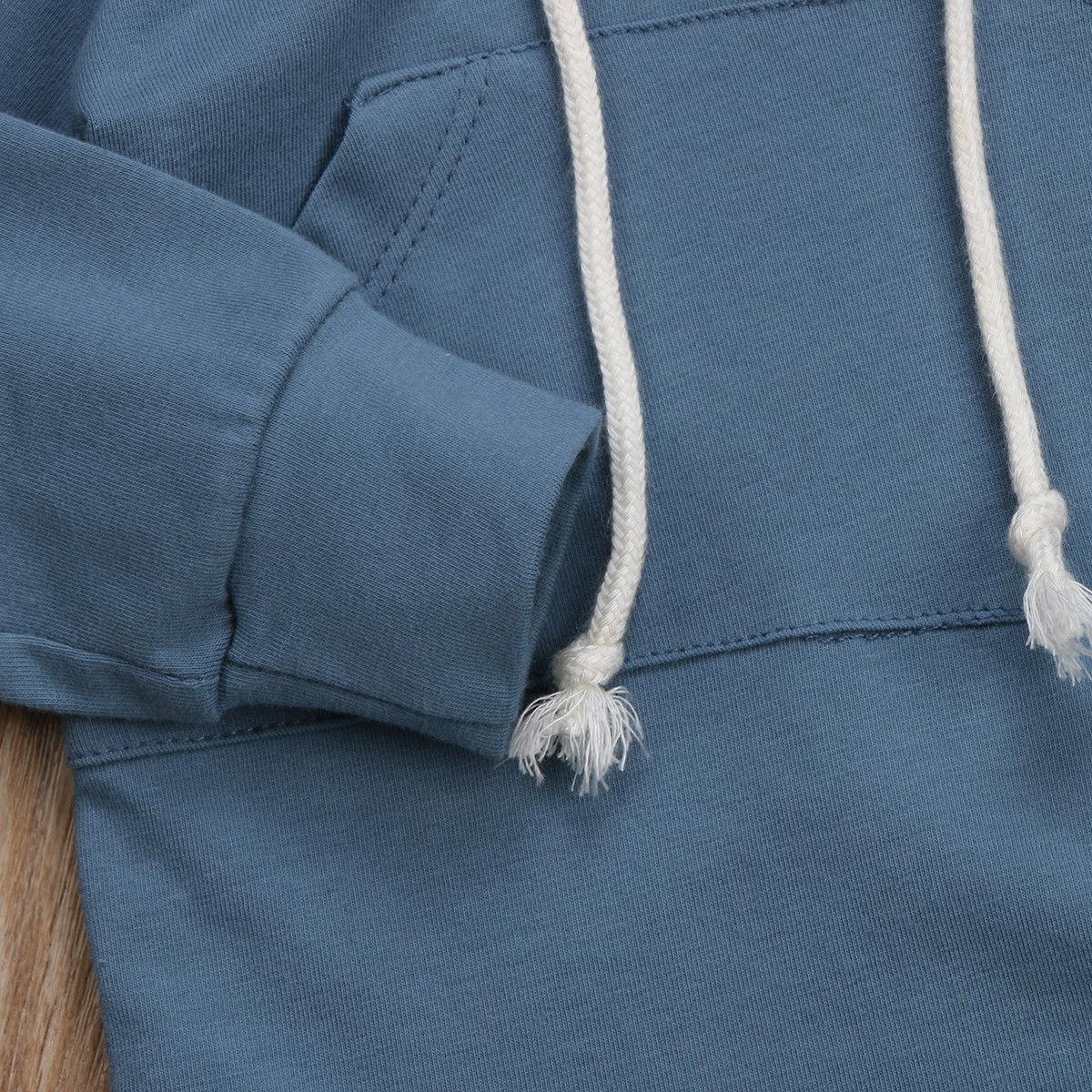Baby Kleidung Herbst Baby Jungen Bruder Hoodie Sweatshirt Mit Kapuze Tops Strampler Overall Kleidung Familie Passenden Outfits