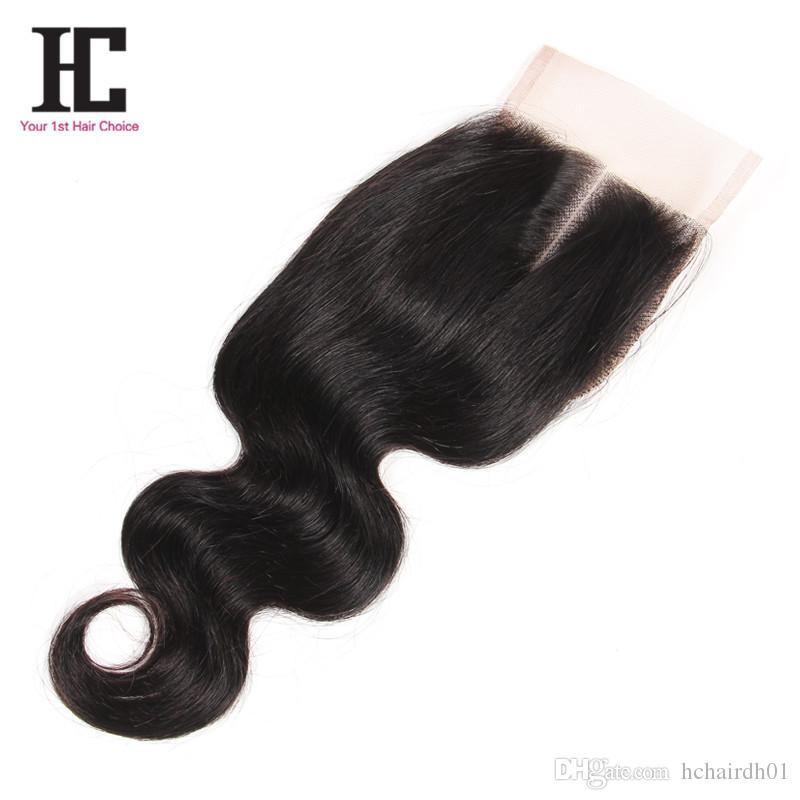 3 Bundles Brazilian Body Weave Grade 7A Cheap Human Hair Bundles With Closure HC Brazilian Hair Bundles With Closure