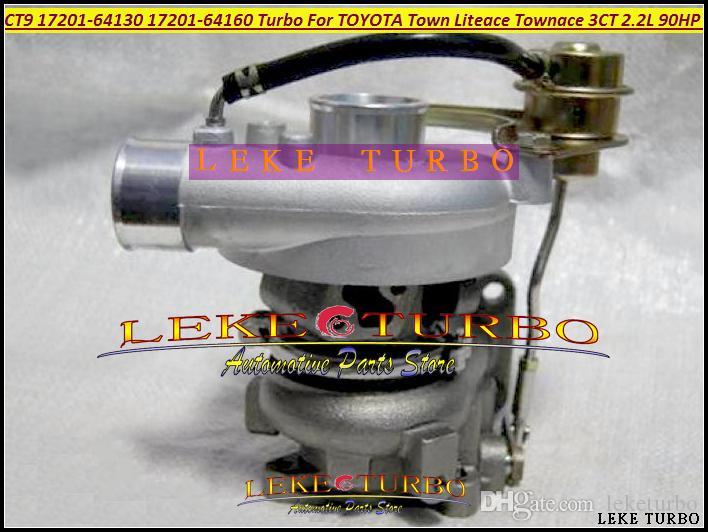 Toptan CT9 D 17201-64160 17201 64160 1720164160 Turbo Türbin Turbocharger TOYOTA Lite Şehir Liteace Townace 3C-T 3CT 3CTE 2.2L 90HP