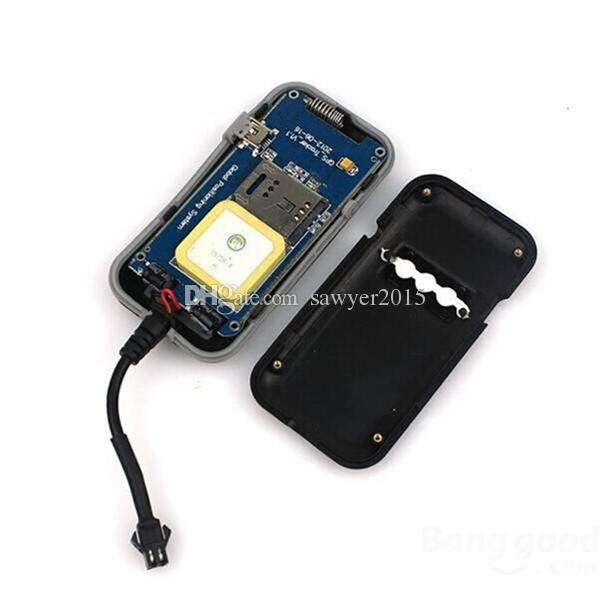 TK110 Mini araba gps tracker Quad Band Anti-Hırsızlık GSM / GPRS / GPS Araç Araba Motosiklet Gerçek Zamanlı GPS Tracker perakende kutusu ile