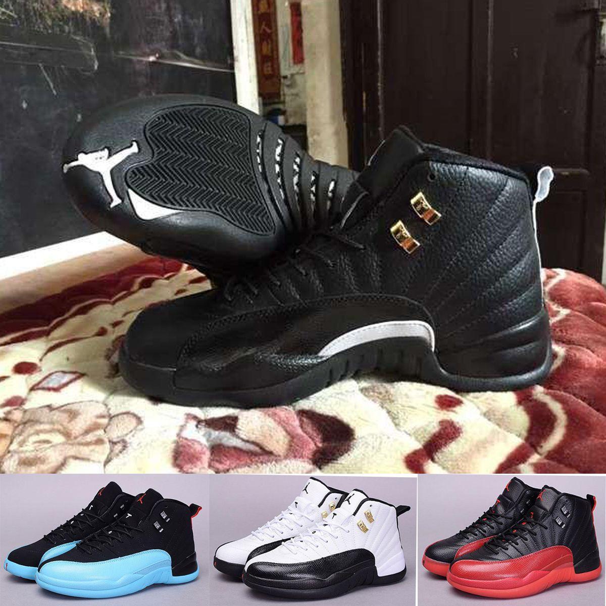 the latest ecb7f 48fee air jordan retro 12 women shoes black blue | Peninsula ...