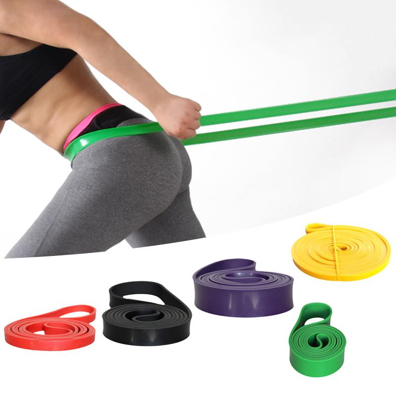 Power Training Resistance Bands Expander Belt Fitness Strength Latex Pull Strap Crossfit Elastic Sporting Equipment Portable