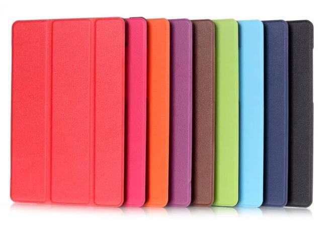 the best attitude 48cff b356b Ultra Slim Flip Cover Tablet Custer Folio Stand Leather Case For Samsung  Galaxy Tab E 9.6 inch T560 T561 Protective shell