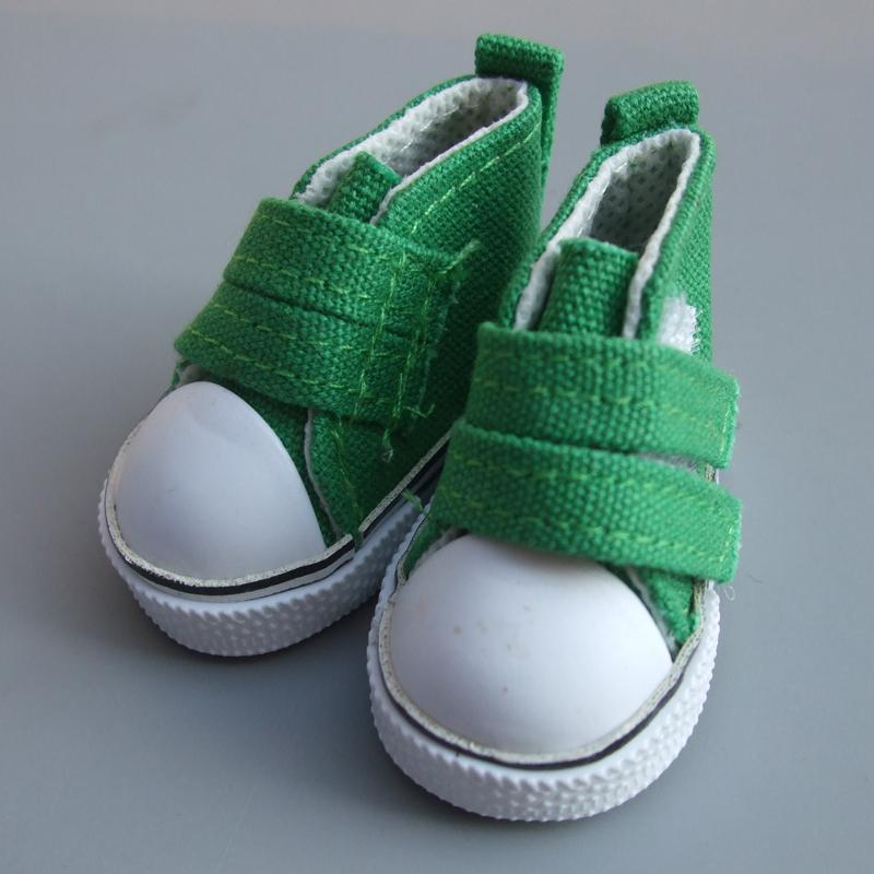 5cm Canvas Jean Doll Shoes For Mini Toy Shoes Bjd Doll Shoes for Russian Handmade Diy Tilda Doll Sneakers