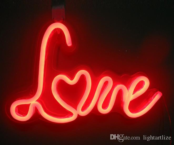 Customize led neon lights hanging wall lamp modelling light home customize led neon lights hanging wall lamp modelling light home decoration opening neon lights neon led rose letter exhibition hall hotel led neon lights aloadofball Images