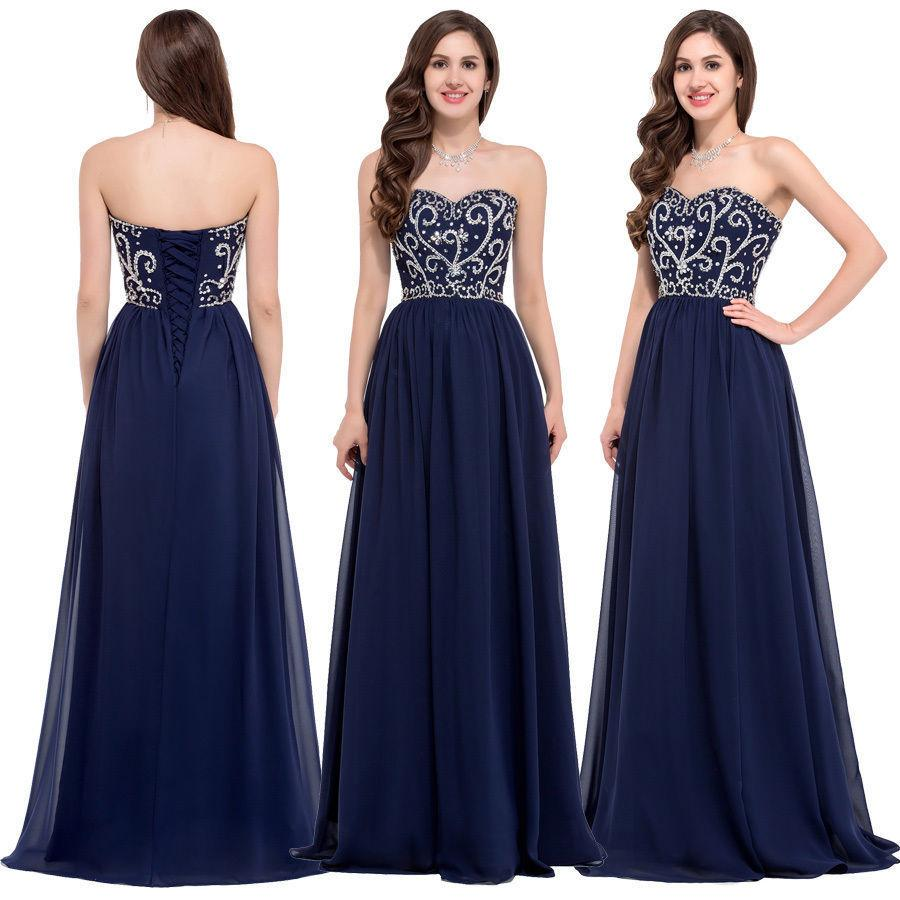 Dark navy blue bridesmaid dresses cheap long strapless sleeveless see larger image ombrellifo Gallery