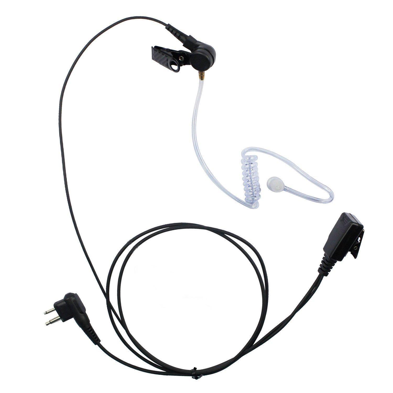 Covert Earbud Headset для наушников Mic для Motorola Radios Walkie Talkie Blackbox-U Blackbox-V AXV5100 AXV5100 AXU4100 CLS446 CP200 CLS1110