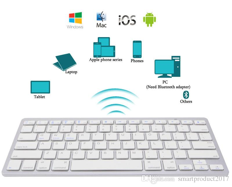 Ultra Slim Wireless Bluetooth 3.0 Keyboard For Android For Mac