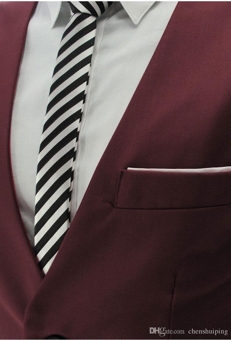 Mens Slim Fit Västar Ytterkläder Casual Passar Stilfulla Korta Blazer Jackor Coats Koreansk Bröllop V-hals Kläder