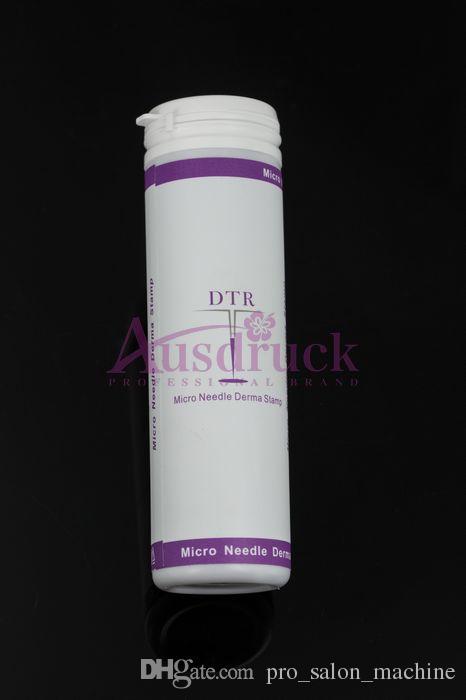 Skatt Gratis 10st Microneedle Rollers Stämpel Face Hudvård Dermaroller 0,25mm 0.5mm 1.0mm 2.0mm etc. Olika storlekar för Välj