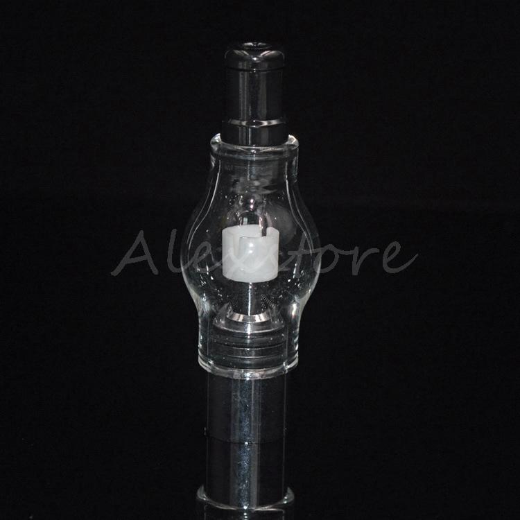 Vidro atomizador pirex tanque de cera erva seca erva vaporizador caneta vapor M6 cúpula atomizador cúpula de vidro glassomizer bobinas vape PK bule DHL