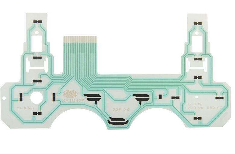 for dualshock 2 controller repair parts pcb ribbon circuit board