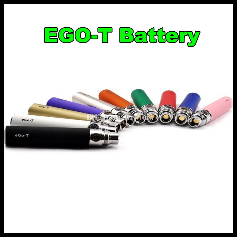Newset Ego Battery E Cig Ego-t E Cigarette Batteries Suit for 510 Thread Atomizer Clearomizer Vaporizer mt3 CE4 CE5 CE6 DCT 650 900 1100 mAh