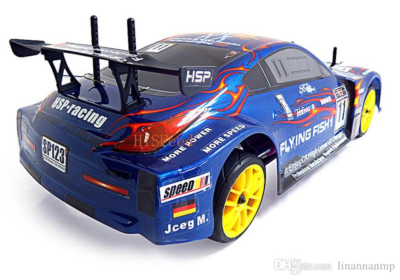 Hsp Rc Drift Car Scale Models Nitro Gas Power On Road