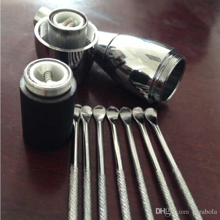 E-Cigarettes dabber tool эго evod воск распылитель сигара инструмент из нержавеющей стали dabber инструмент титановый гвоздь dabber инструмент печь распылитель нет катушки нет фитиль воска