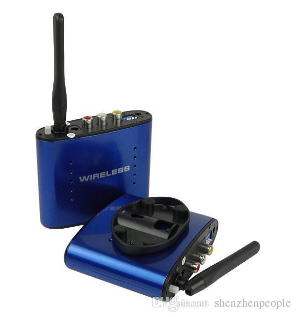 Yeni 5.8 GHz Kablosuz AV Ses Video Gönderen Verici Alıcı 200 M PAT630