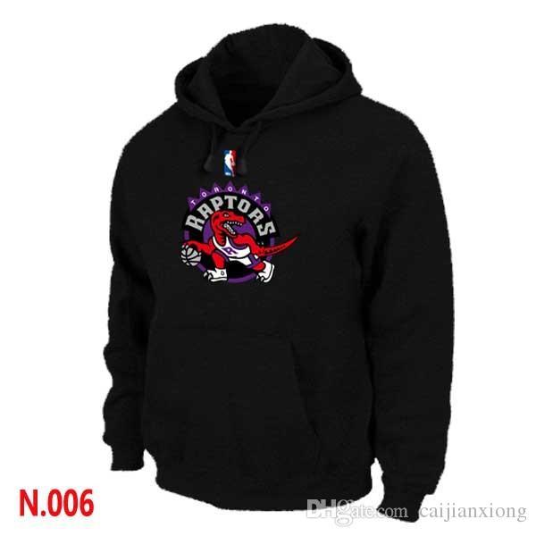 Online Cheap Cheap Mens Raptors Black Pullover Hoodie Letter Logo ...