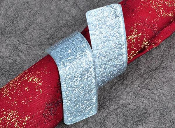골드 냅킨 링 실버 반지 결혼식 냅킨 링 크리스마스 홀리데이 레스토랑 테이블 장식 5cm 냅킨 용 아크릴 반지
