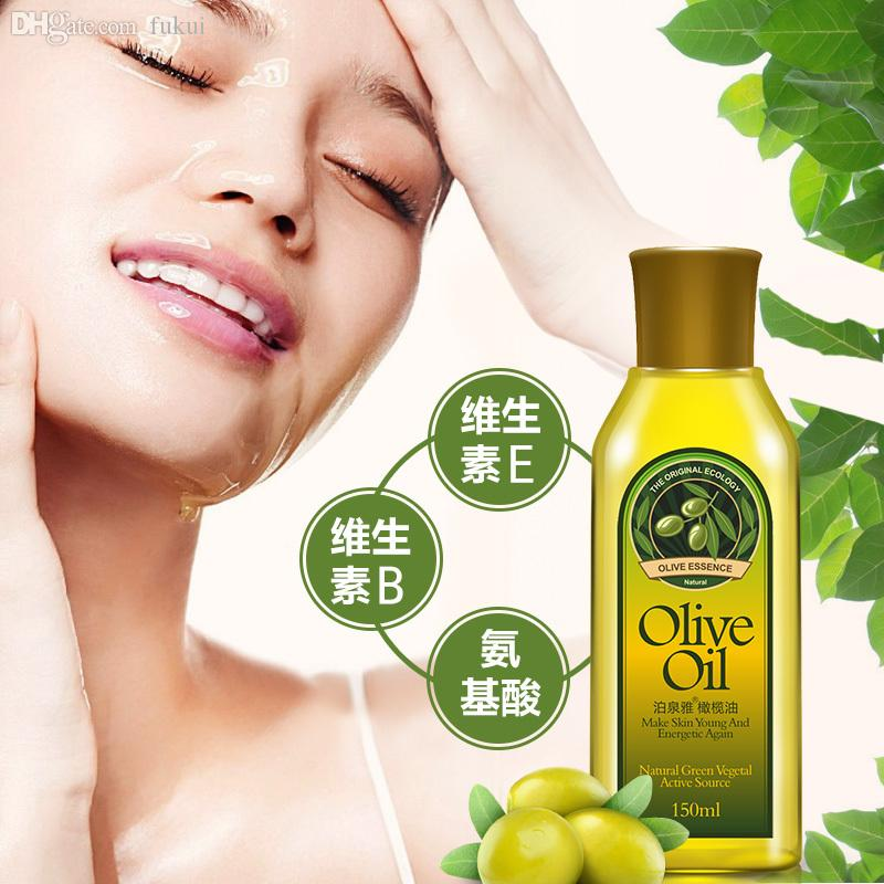 Facial cleanser made with olive oil