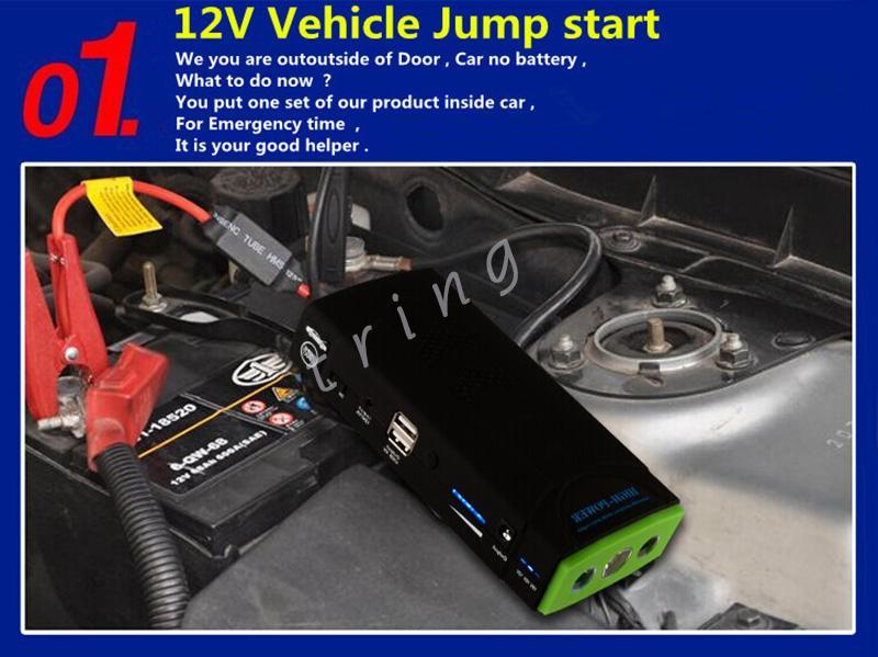 38000mAh متعددة الوظائف البسيطة السريع كاتب سيارة شاحن بطارية محمول الهاتف المحمول الهاتف المحمول بنك الطاقة حزمة الخارجية بطارية قابلة للشحن