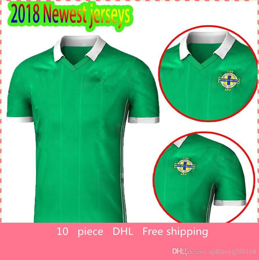 acheter nouveau 2018 irlande du nord jersey mcnair maison verte