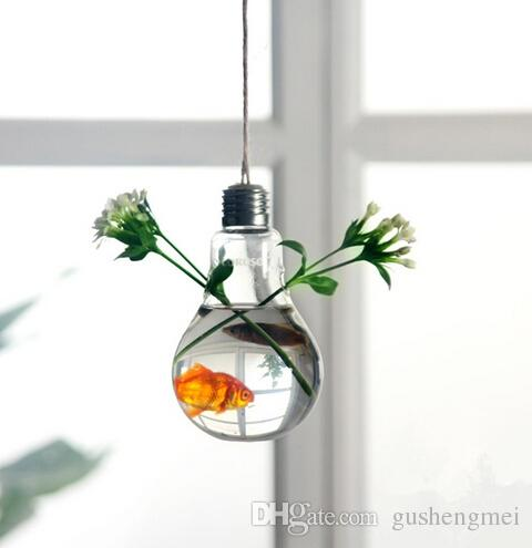 Sale Hanging Light Bulb Succlent Terrarium Air Plant Desktop