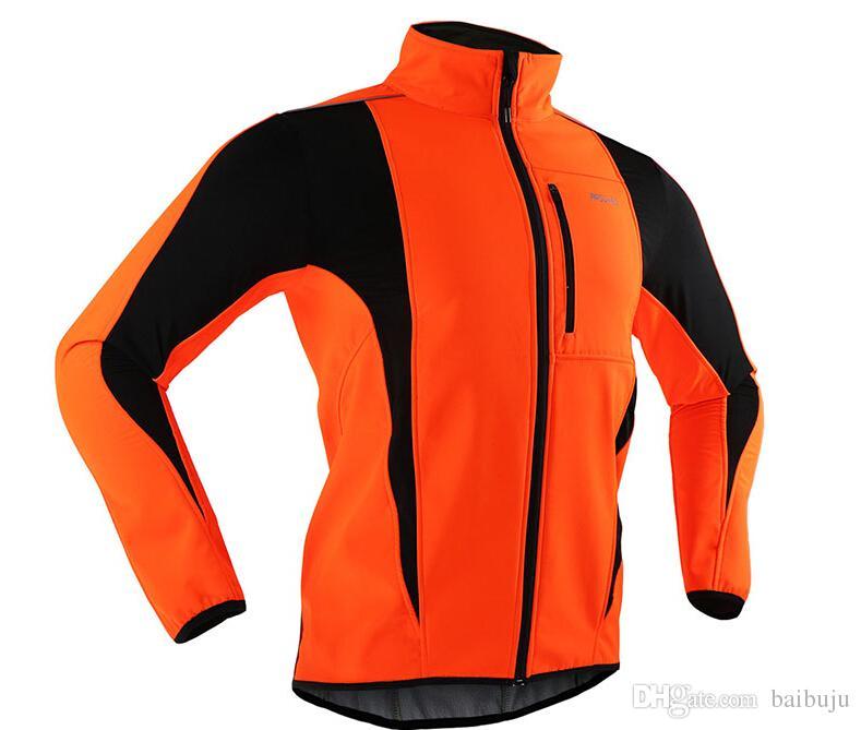 열 자전거 타는 스포츠 재킷 겨울 따뜻한 위로 방풍 방수 소프트 쉘 코트 무료 배송
