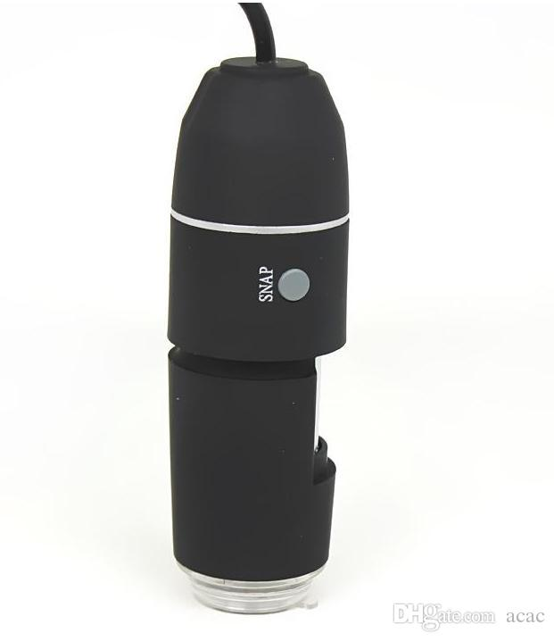 Nuovo Mega Pixel 1000X 8 LED USB Digital Microscopio Fotocamera endoscopio Microscopio Lente d'ingrandimento Z P4PM