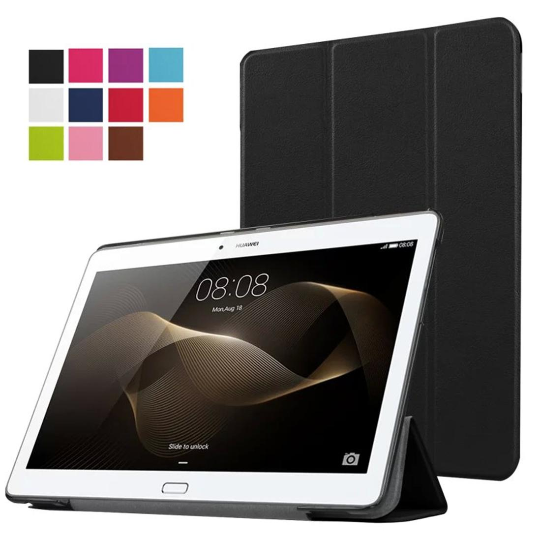 huawei 10 inch tablet. ultra thin pu leather cover for huawei mediapad m2 10.0 a01l a01m a01w + screen protector protective film tablet case 10 keyboard 7 inch c