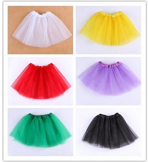 Top Quality Candy Color Kids Tutus Skirt Dance Dresses Soft Tutu ... 01bd94532