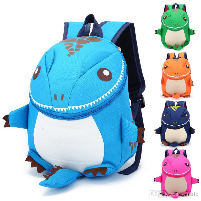 78fe061c94 3D Dinosaur Backpack For Boys Children Backpacks Kids Kindergarten Small  SchoolBag Girls Cute Animal Prints Travel Bags Rucksack Cool Backpacks  Leather Bags ...