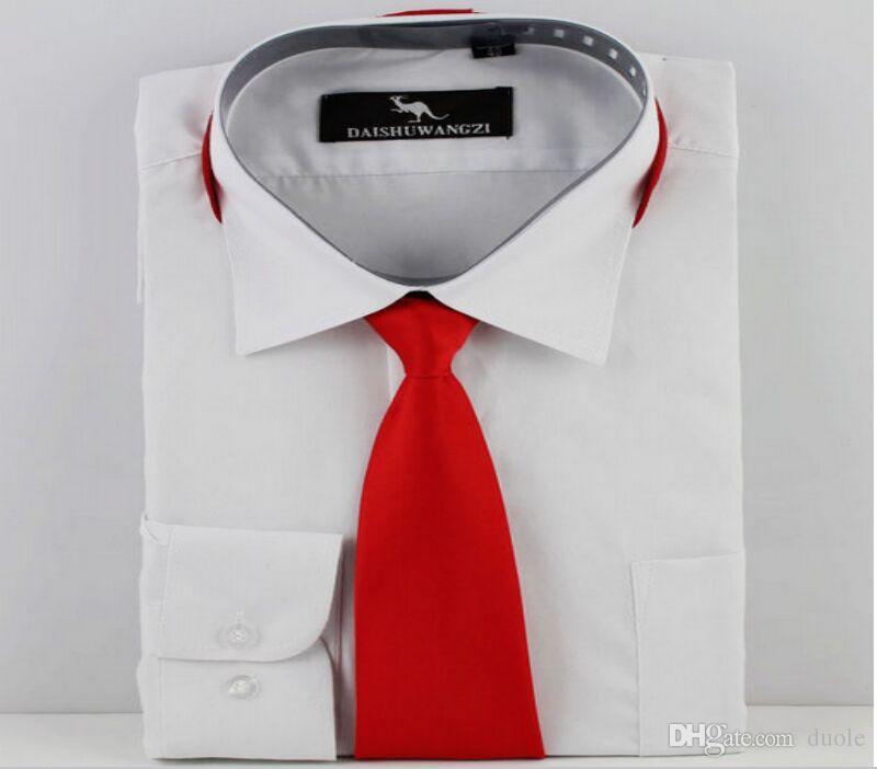 지퍼 넥타이 게으 넥 넥타이 2 색 남성 비즈니스 넥타이의 직업 넥타이 아버지의 날 크리스마스 선물 무료 페덱스