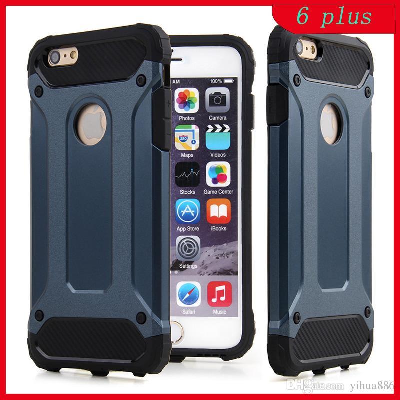 20bdd3b5ddf Accesorios Para Smartphone Funda Protectora Dura Y Resistente Al Agua Para  IPhone 4 5 6 6 Plus Galaxy S5 S6 Edge S7 S7 Edge Plus Nota 5 Carcasas ...