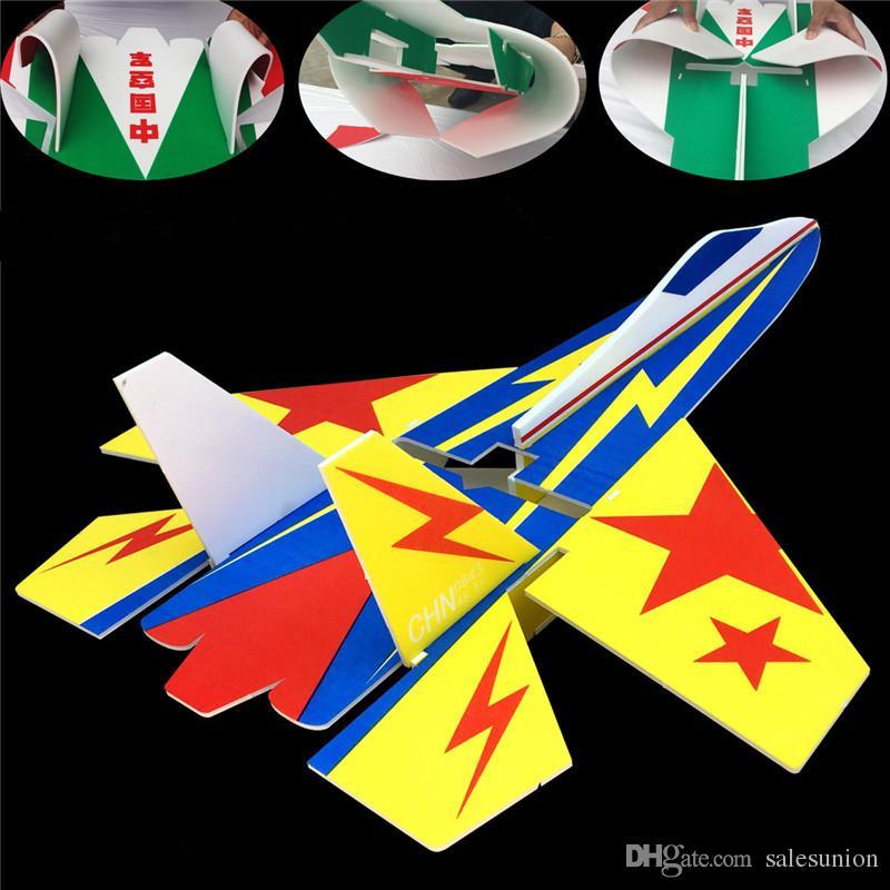 Brand new su 27 modello rc aerei parte multicolor resistente alla rottura kt schiuma bordo led jet aereo corpo kit dropshipping