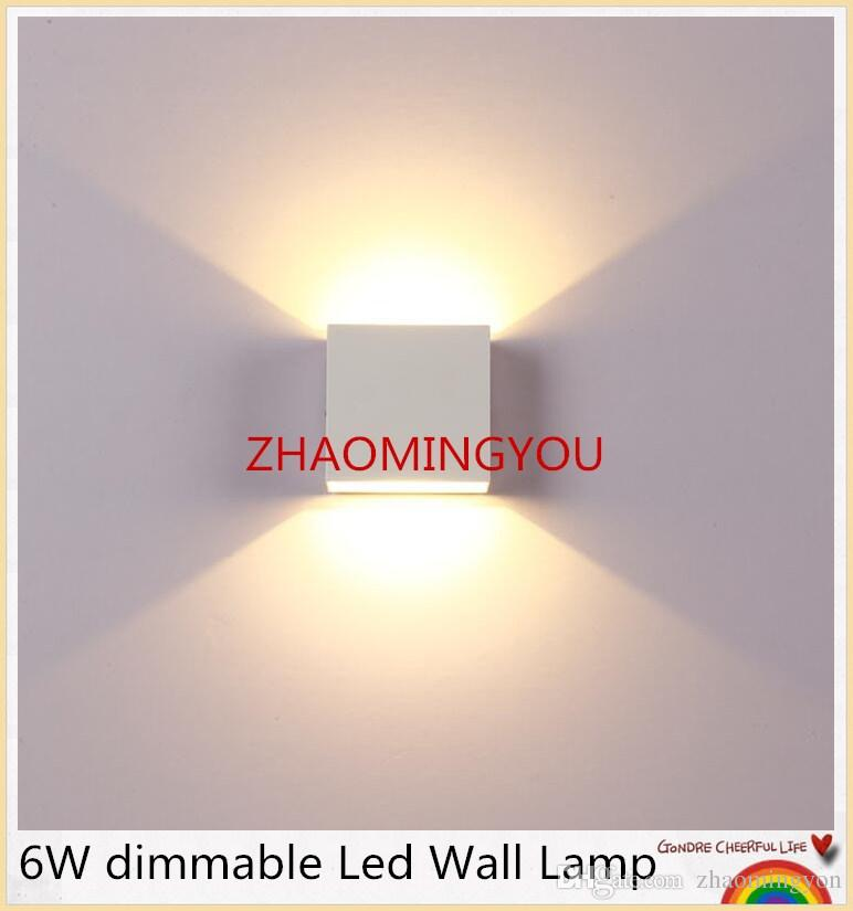 2019 Yon 6w Dimmable Led Wall Lamp Luminaire Apliques Pared Lamparas De Sconce Bedroom Light White Warm From Zhaomingyon