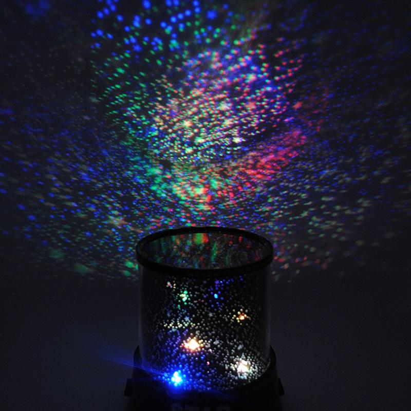 2018 wholesale colorful cosmos romatic star sky master projector starry led night light lamp for bedroom cute gift baby sleep beautiful design from hogon