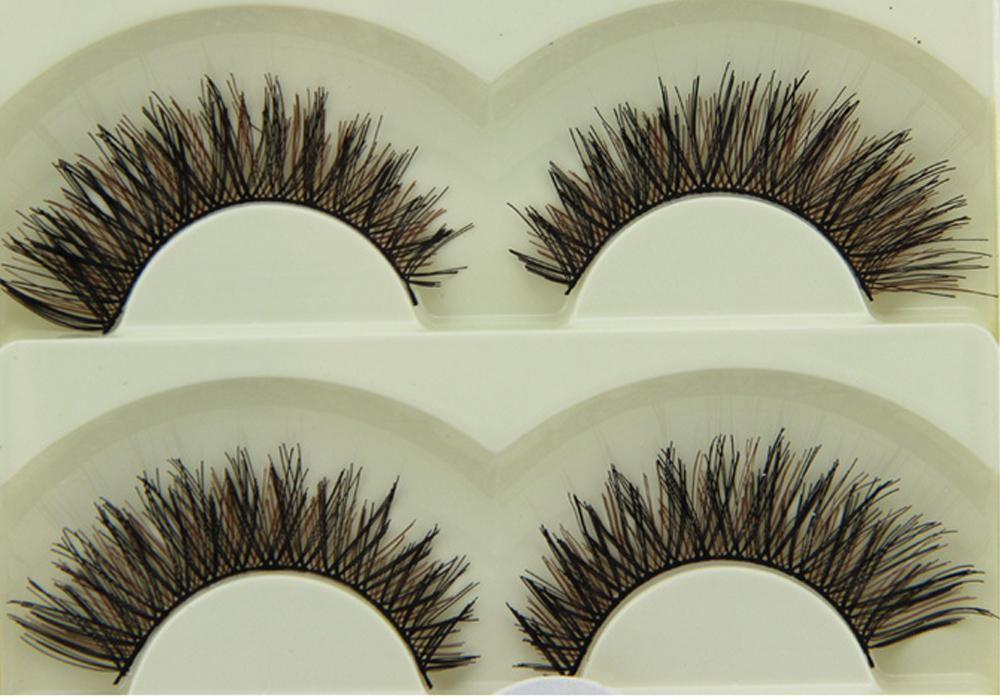 similar true hair eye lashes,silk eye lashes cheap eye lashes Korea pbt  fiber lashes protein human hair eyelashes 5-08