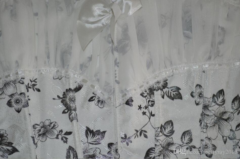 Кружева сетки Overbust корсет для новобрачных готический одежда талии тренер сексуальное женское белье для похудения корсет и бюстье без бретелек груди binder корсет