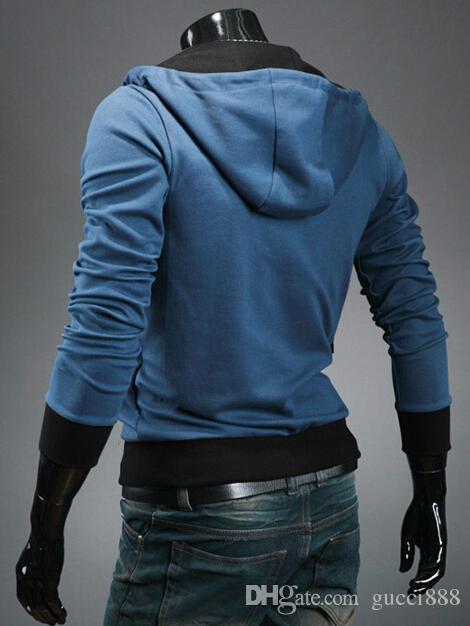 Crep novo Assassin's Creed 3 Desmond Miles Moletom Com Capuz Top Casaco Jaqueta Traje Cosplay, assassins creed estilo Com Capuz casaco de lã, @ dds