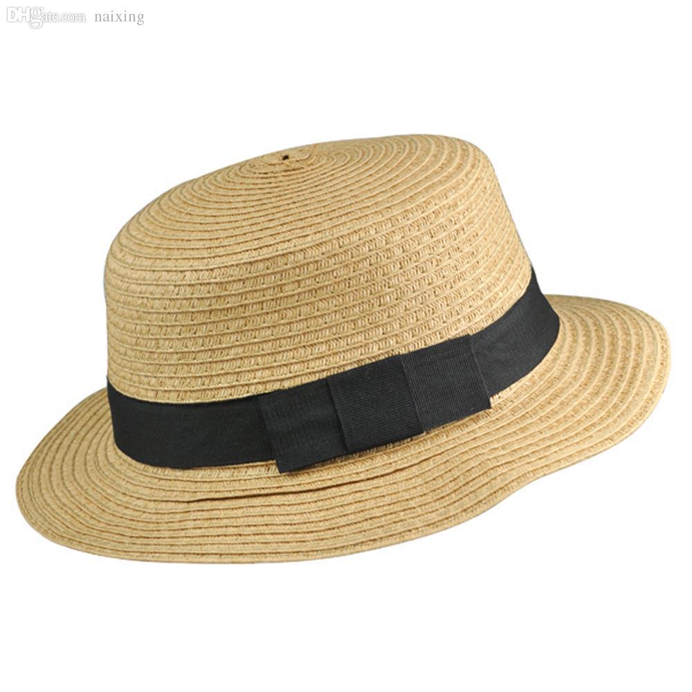 5a4fdb09321 Wholesale- HOT Sweet Womens Ladies Summer Beach Sun Visor Bowknot ...